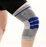 용수철을%s 가진 Breathable 운동 보호 무릎 압축 실리콘 젤 농구 방어적인 무릎 패드