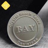 China personalizados fabricantes de aleación de zinc metal moneda Bitcoin
