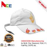 OEM/ODM новый пользовательский дизайн спорта 100% хлопка белого цвета бейсбольные винты с головкой