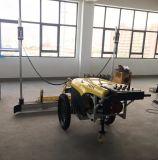 働き長さ2.6mのコンクリートレーザーの長たらしい話機械