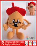 Mignon haut champignons, la tomate jouet en peluche avec la CE