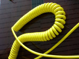 Elektro Spiraalvormige Geïsoleerdeu Kabel TPE Pu