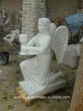 La escultura de mármol blanco paisaje /Garden /Villa decoración estatua de mármol