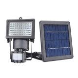 정원을%s 60의 LEDs 옥외 운동 측정기 안전 플러드 빛 태양 빛
