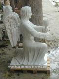 Condizione di marmo bianca del marmo della scultura per la decorazione del giardino