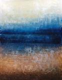 現代マルチパネルの特別な砂の質2PCS/Setのハンドメイドの抽象的な油絵