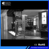 Il livello di P3.9/7.8mm la parete trasparente di velocità di rinfrescamento LED per fare pubblicità