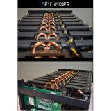288mhash/S Bitcoin Miner Rig Placas Gráficas para mineração Zcash Ethereum Rig, 9*Rx560d AMD Dual Rx560 8G
