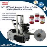 Máquina de rotulação, redondo com codificador de garrafa de vinho (MT-50B)