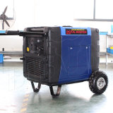 バイソン(中国) BS6300X 6.3kw 1年の保証小さいMOQの電気開始の銅線インバーター発電機6300W
