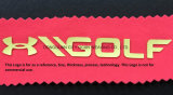 Logo de silicone de la plaque d'épaisseur du papier de transfert de chaleur