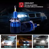 360 Grau Auto Luminárias Hb4 Farol LED luminoso Super 9006 Carro LED Faróis de Xénon Automotives universalmente Aplicar Sedan