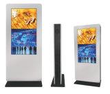 HD LED Anzeigen-Bildschirmanzeige-Foto-Drucker, der Fußboden-Standplatz-die Bildschirmanzeige des Spieler-55-Inch bekanntmacht Monitor LCDdigital Signage der Handventilator-Zoll-Sendungs-LED bekanntmacht