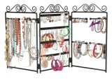 Metal Floding Desk Stand Jewelry Storage Display Rack