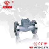 Válvula de verificação inoxidável do balanço da flange da soldadura de aço