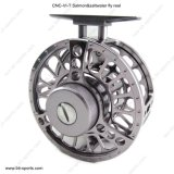 Kundenspezifische Bandspule-Service CNC-Maschinen-Schnitt-Aluminiumfrischwasser-, Lachs-und Salzwasser-Fliegen-Bandspule 02A-CNC-VI