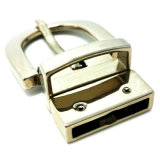L'inarcamento di cinghia rovesciabile in lega di zinco di Pin dell'inarcamento del metallo di alta qualità per il vestito allaccia le borse dei pattini dell'indumento (XWS-ZD441)