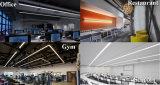 Lineaire LEIDENE van de Opschorting Lichten, 95 Duim 60W, boven en beneden Dubbel ZijLicht die, het Slanke Gebruik van het Ontwerp van de Lijn Moderne voor de Verlichting van het Bureau, de Verlichting van de Supermarkt uitzenden