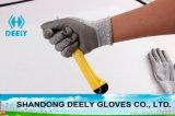 Seguridad resistente cortada PU de los guantes que trabaja el guante protector del Anti-Corte