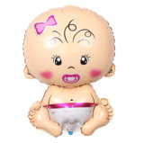 De Ballon van het Aluminium van de baby voor de Decoratie van de Douche van de Baby van de Partij van de Verjaardag