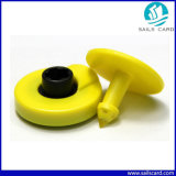 Tag de orelha animal passivo de ISO11784 134.2kHz TPU RFID