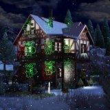 Jardín al aire libre a distancia de la imagen de la luz de la luz del láser para Navidad Hallowmax