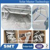 PV SOLAR réglable Support de montage de toit plat, type de fondation en béton