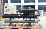 Refrigerador de refrigeração água refrigerando do parafuso de uma capacidade de 60 toneladas