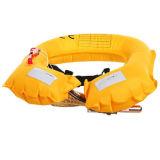 Настраиваемые надувной спасательный жилет для занятия водными видами спорта