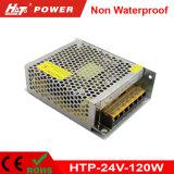 la fuente de alimentación más pequeña de la talla LED de 5A 24V con precio de fábrica