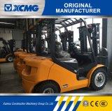 XCMGの公式の製造業者Fd40t固体タイヤが付いている4トンのディーゼルフォークリフト