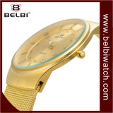 Belbi Arabic Numerals Dial Utlra-Thin Steel Watch Strap Men Watch