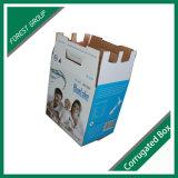 Casella ondulata doppia per l'imballaggio puro dell'acqua