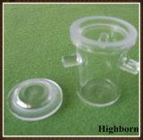 Transparent keine Luftblasen-freier Raum Rademacher Silikon-Quarz-Tiegel