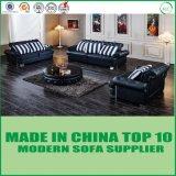 Sofa sectionnel en cuir moderne de luxe de divans de bâti de sofa de Chesterfield
