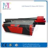 Mejor calidad de 2,5 m *1.2m Piezo de gran formato Plotter plana LED UV acrílico