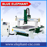 Jinan Novo económica multifuncional 1325 Modelo 3D Máquina de Madeira 4 Grandes fresadora CNC de eixos com dispositivo rotativo
