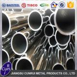 Tubo certificado ISO soldado redondo durable 316ti del acero inoxidable del tubo