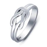 도매 보석 최고 가격 결혼식 격판덮개 로듐 도금 여자 반지 925 은 보석