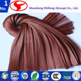 El cordón tejido utilizado en el refuerzo de mangueras de caucho de pesca de poliéster/net/hilados de poliéster/poliéster tafetán/poliéster tejido del cordón de neumáticos