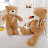 Peluches en ligne de coton de jouet fait sur commande timide en gros d'ours