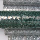 Acoplamiento de alambre hexagonal galvanizado sumergido caliente cubierto PVC