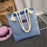 Пляж сумка женская сумка дамы женщин большой пляж взять на себя сувениры с карманами сумка
