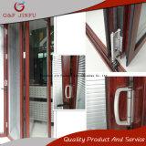 Porta de dobradura de vidro do Multi-Painel da porta do perfil de alumínio com obturadores integrais
