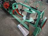 Сетка колючей проволоки Китая автоматическая двойная, котор сели на мель Twisted делая машину