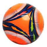 Balón de fútbol impreso aduana colorida de la insignia de la muestra libre