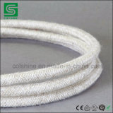 VDE certifié autour du câble de tissu tressé de fil de textile