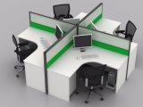Het moderne Dwars Standaard Modulaire Werkstation van het Bureau voor Persoon 4 (sz-WST629)