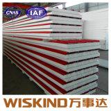 鋼鉄建物または耐火性にするサンドイッチパネルのためのEPSサンドイッチパネル