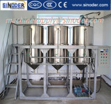 Refinería caliente del aceite de mesa de la pequeña escala del aceite de cocina de la venta